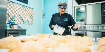Lorie Rios Owner of Lighthouse 55 Bakery